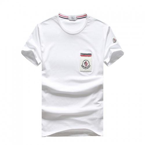 Moncler T-Shirts Short Sleeved O-Neck For Men #756687