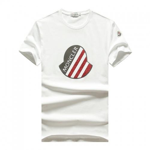 Moncler T-Shirts Short Sleeved O-Neck For Men #756737