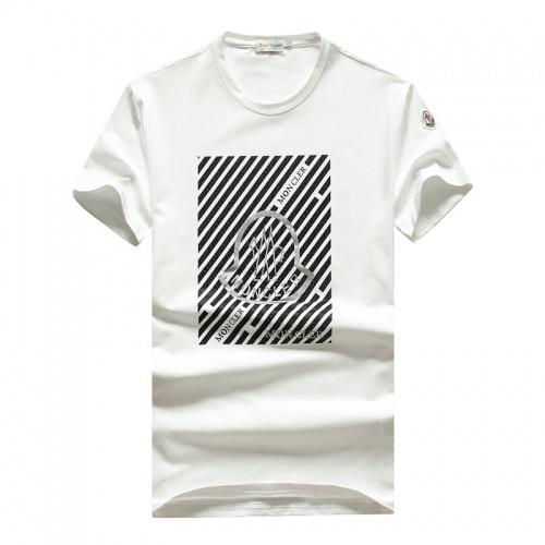 Moncler T-Shirts Short Sleeved O-Neck For Men #756741