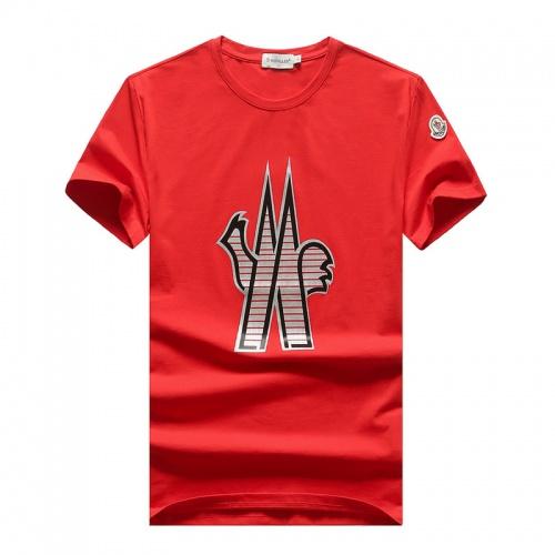 Moncler T-Shirts Short Sleeved O-Neck For Men #756747