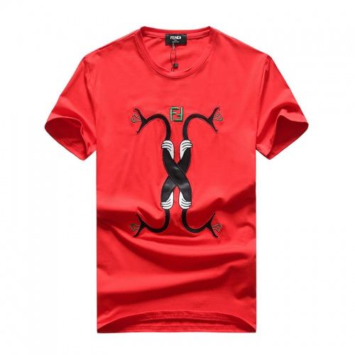 Fendi T-Shirts Short Sleeved O-Neck For Men #756750
