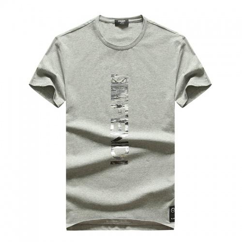 Fendi T-Shirts Short Sleeved O-Neck For Men #756753