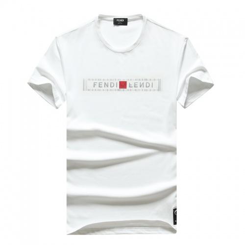 Fendi T-Shirts Short Sleeved O-Neck For Men #756761