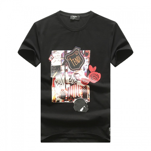 Fendi T-Shirts Short Sleeved O-Neck For Men #756781