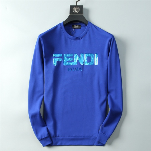 Fendi Hoodies Long Sleeved O-Neck For Men #756914