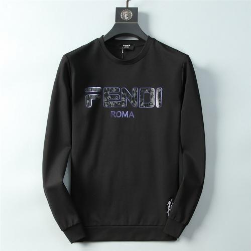 Fendi Hoodies Long Sleeved O-Neck For Men #756916