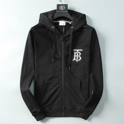 Burberry Hoodies Long Sleeved Zipper For Men #756937
