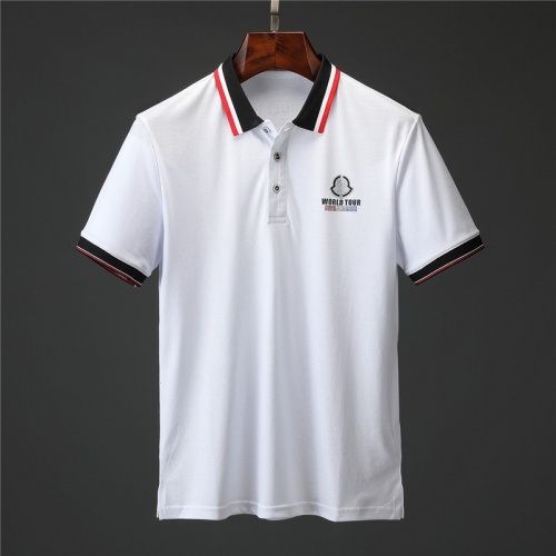 Moncler T-Shirts Short Sleeved Polo For Men #757203