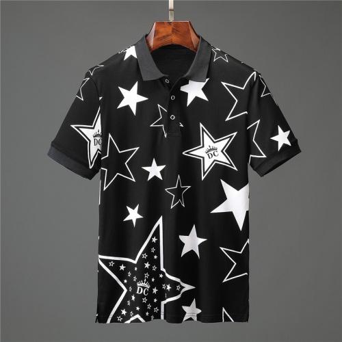 Dolce & Gabbana D&G T-Shirts Short Sleeved Polo For Men #757205