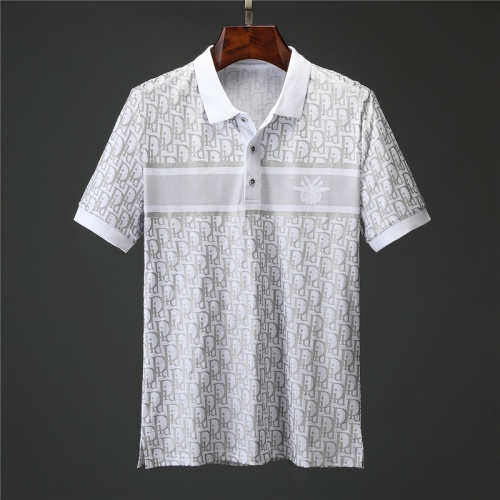 Christian Dior T-Shirts Short Sleeved Polo For Men #757208