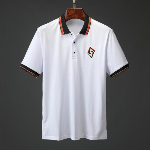 Fendi T-Shirts Short Sleeved Polo For Men #757211