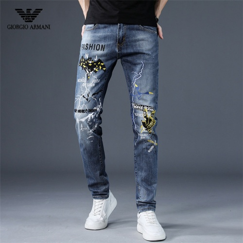 Armani Jeans Trousers For Men #757226