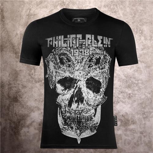 Philipp Plein PP T-Shirts Short Sleeved O-Neck For Men #757257