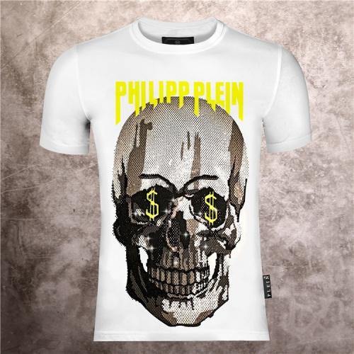Philipp Plein PP T-Shirts Short Sleeved O-Neck For Men #757263