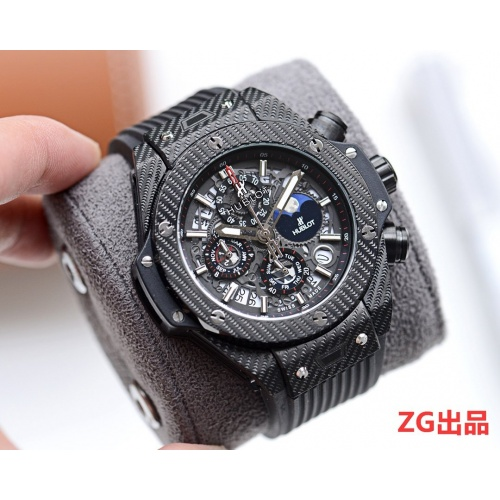 HUBLOT AAA Quality Watches In 46mm*12mm For Men #757400 $156.17 USD, Wholesale Replica HUBLOT Quality Watches