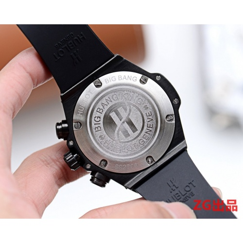 Replica HUBLOT AAA Quality Watches In 46mm*12mm For Men #757400 $156.17 USD for Wholesale