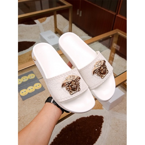 Versace Slippers For Women #757517 $43.65, Wholesale Replica Versace Slippers