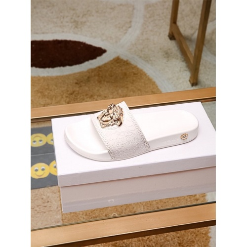 Replica Versace Slippers For Women #757517 $43.65 USD for Wholesale