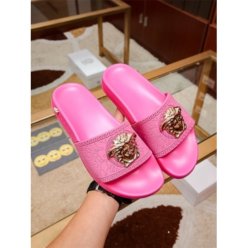 Versace Slippers For Women #757520 $43.65, Wholesale Replica Versace Slippers