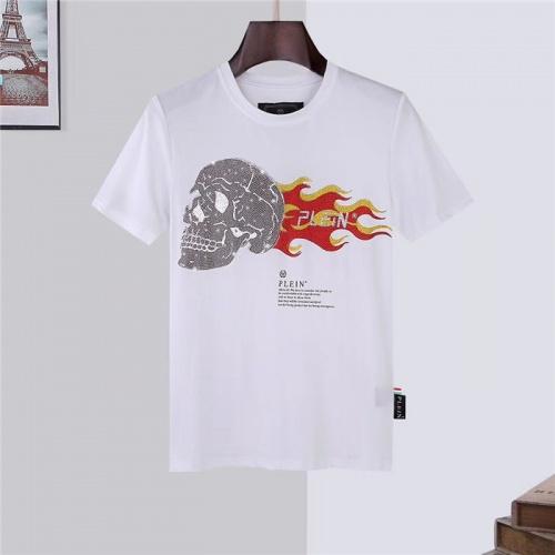Philipp Plein PP T-Shirts Short Sleeved O-Neck For Men #757685