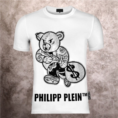 Philipp Plein PP T-Shirts Short Sleeved O-Neck For Men #757719