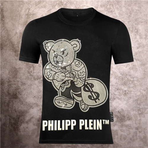 Philipp Plein PP T-Shirts Short Sleeved O-Neck For Men #757721