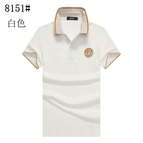 Versace T-Shirts Short Sleeved Polo For Men #757732