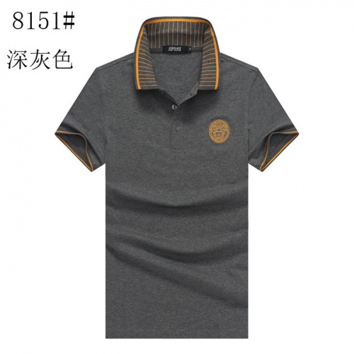 Versace T-Shirts Short Sleeved Polo For Men #757735