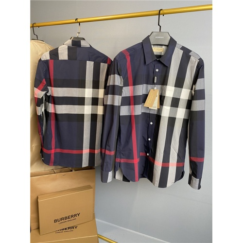 Burberry Shirts Long Sleeved Polo For Men #758114