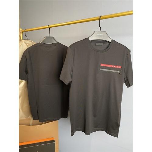 Prada T-Shirts Short Sleeved O-Neck For Men #758255