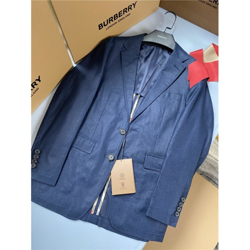 Burberry Suits Long Sleeved Polo For Men #758317