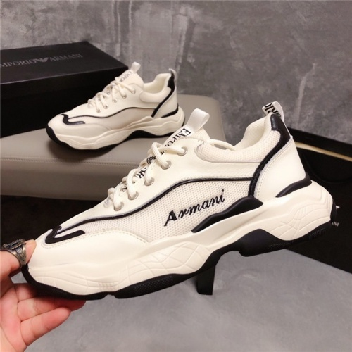 Armani Casual Shoes For Men #758386