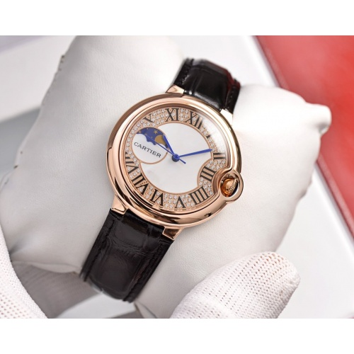 Cartier AAA Quality Watches For Women #758423