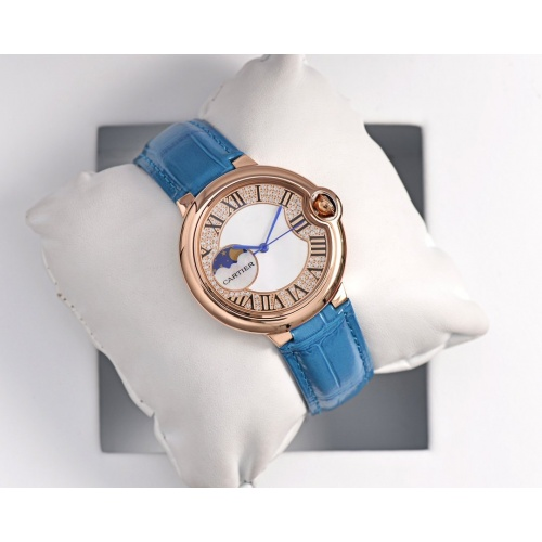 Cartier AAA Quality Watches For Women #758424