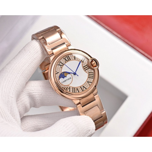 Cartier AAA Quality Watches For Women #758426