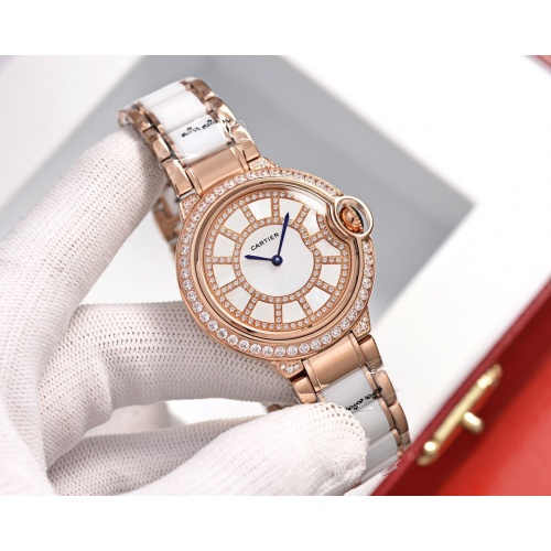 Cartier AAA Quality Watches For Women #758431