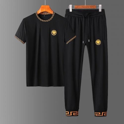 Versace Tracksuits Short Sleeved O-Neck For Men #758677