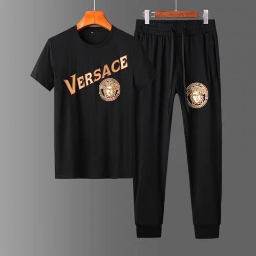 Versace Tracksuits Short Sleeved O-Neck For Men #758678