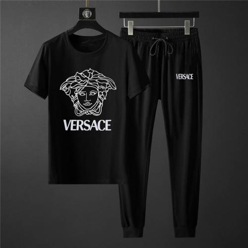 Versace Tracksuits Short Sleeved O-Neck For Men #758692