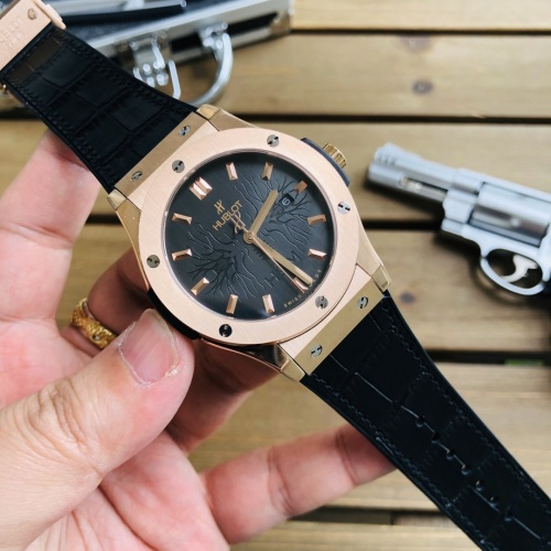 HUBLOT AAA Quality Watches For Men #758741 $219.22 USD, Wholesale Replica HUBLOT Quality Watches