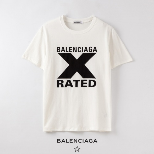 Balenciaga T-Shirts Short Sleeved O-Neck For Men #758884