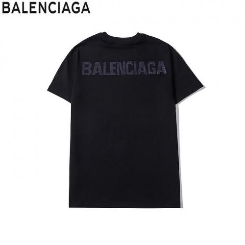 Balenciaga T-Shirts Short Sleeved O-Neck For Men #758893