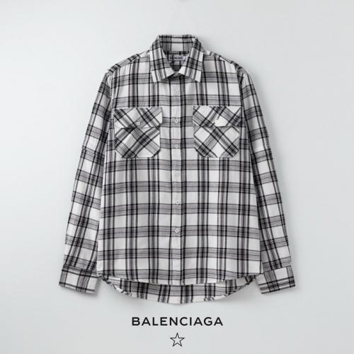 Balenciaga Shirts Long Sleeved Polo For Women #758894