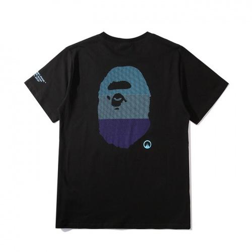 Bape T-Shirts Short Sleeved O-Neck For Men #758967