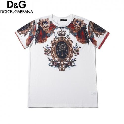Dolce & Gabbana D&G T-Shirts Short Sleeved O-Neck For Men #759047