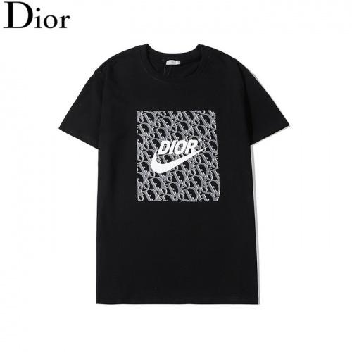 Dior T-Shirts Short Sleeved O-Neck For Men #759048