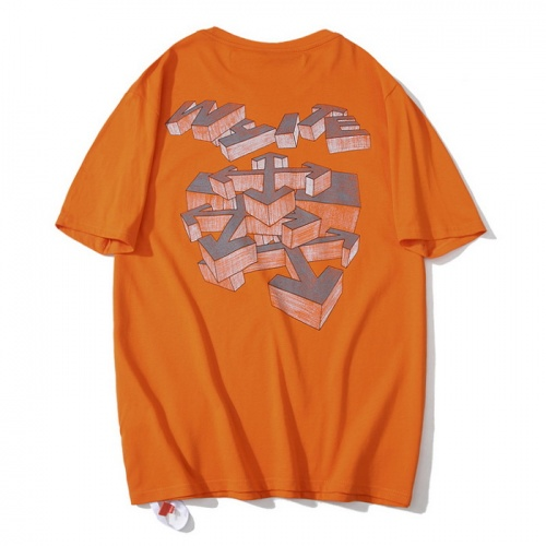 Off-White T-Shirts Short Sleeved O-Neck For Men #759278