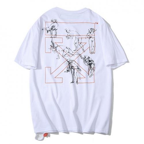 Off-White T-Shirts Short Sleeved O-Neck For Men #759292