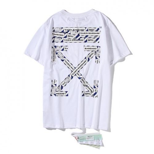 Off-White T-Shirts Short Sleeved O-Neck For Men #759304