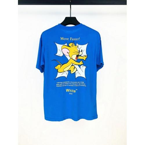 Off-White T-Shirts Short Sleeved O-Neck For Men #759350